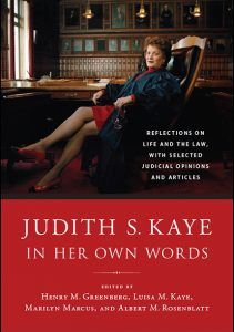 Judith S. Kaye in Her Own Words book cover
